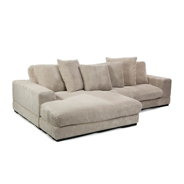 Moes Home Plunge Cappuccino Sectional MOE-TN-1004-14