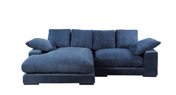 Moes Home Plunge Navy Blue Sectional MOE-TN-1004-46