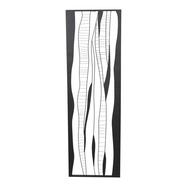 Moes Home Black Metal Waves 2 Wall Decor MOE-TY-1033-02