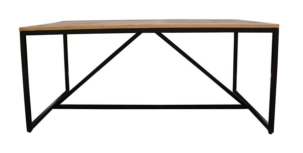 Castle Designs Colvin Brown Dining Table CTL-VE-1031-03