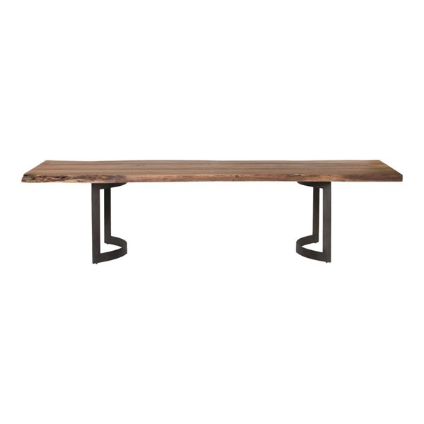 Moes Home Bent Brown Extra Small Dining Table MOE-VE-1036-03