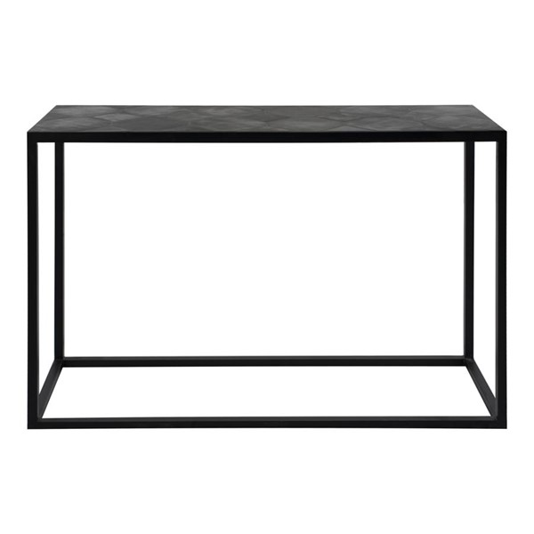 Moes Home Tyle Modern Black Rectangle Console Table MOE-VH-1010-02