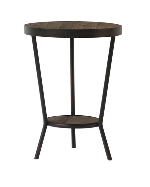 Castle Designs Brin Brown Side Table CTL-VL-1009-03