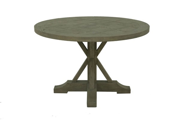 Moes Home Dunham Grey Round Dining Table MOE-VL-1013-15