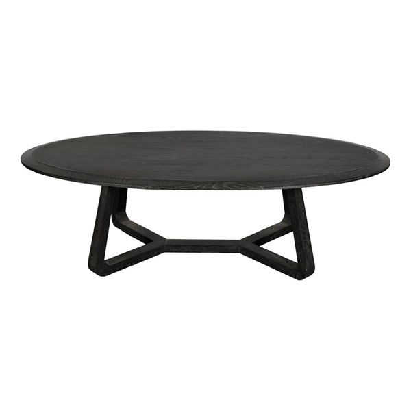 Moes Home Nathan Black Wood Coffee Table MOE-VL-1044-02