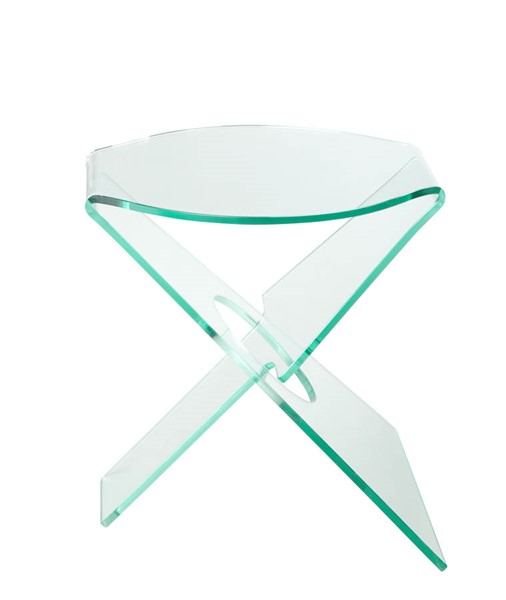 Castle Designs Crystal Clear Side Table CTL-WG-1001-17