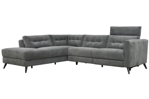 Moes Home Beaumont Dark Grey Left Power Sectional MOE-WH-1017-25-L