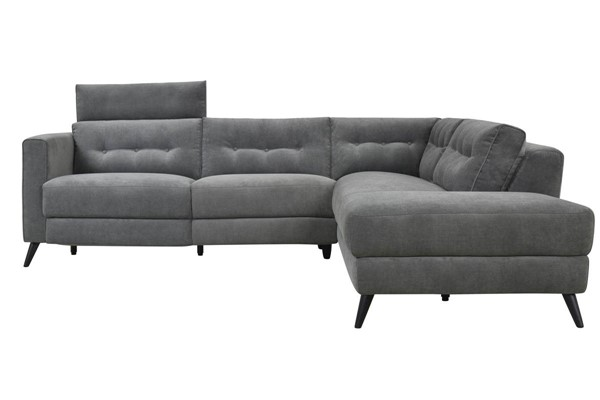 Moes Home Beaumont Dark Grey Right Power Sectional MOE-WH-1017-25-R