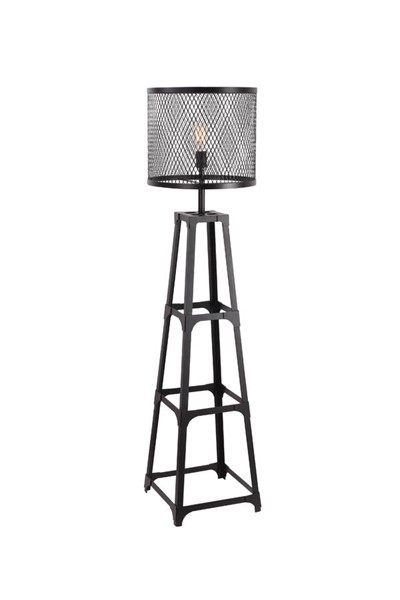 Castle Designs Black Creston Floor Lamp CTL-WK-1002-02