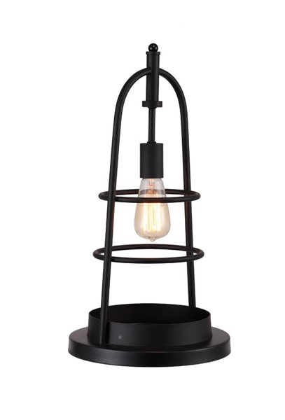 Moes Home Black Hennessey Table Lamp MOE-WK-1003-02