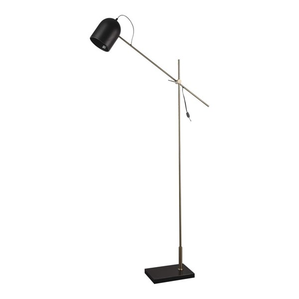 Moes Home Abrahamson Black Metal Floor Lamp MOE-WK-1016-02