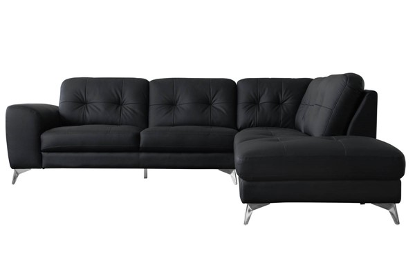 Moes Home Harlow Black Right Sectional MOE-WS-1003-02-R