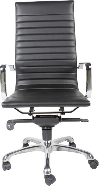 Moes Home Omega Black High Back Office Chair MOE-ZM-1001-02