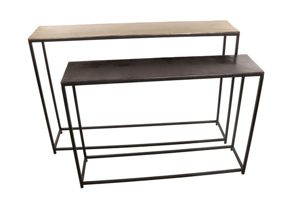 Moes Home Anni Metal 2pc Console Table MOE-ZY-1011-37