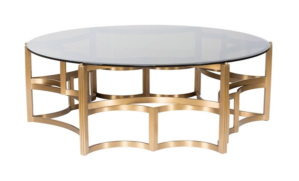Curations Stainless Steel Coffee Table CUR-1000-1008