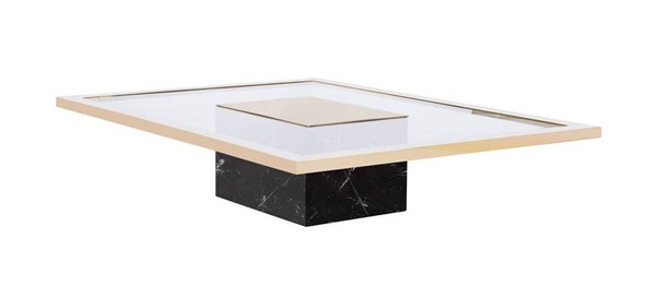 Curations Mono Gold Coffee Table CUR-1001-1011