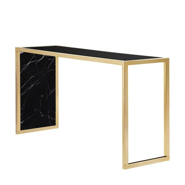 Curations Siri Black Gold Console CUR-1001-2008-Black