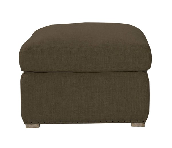 Curations Winslow Brown Fabric Ottoman CUR-7801-1112-A008