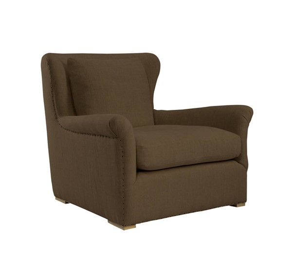 Curation Winslow Brown Lounge Swivel Chair CUR-7841-1003-A008-SWL
