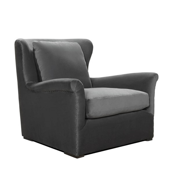 Curation Winslow Grey Lounge Swivel Chair CUR-7841-1003-V807-SWL