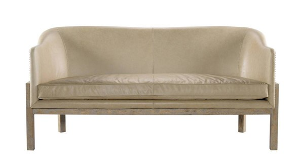 Curations Lucerne Leather Sofa CUR-7842-0032