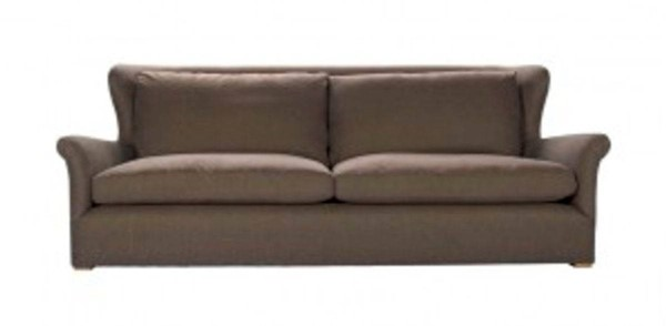 Curations Winslow Brown Fabric Sofa CUR-7842-1107-A008