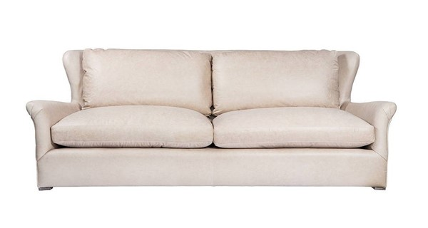 Curations Winslow Beige Leather Back CUR-7842-3107