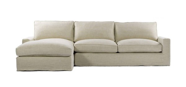 Curations Mons Beige Upholstered LAF Sectional CUR-7843-0001-LAF