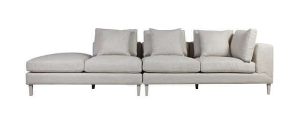 Curation Dona Beige Linen LAF Sectional CUR-7843-3003-LAF