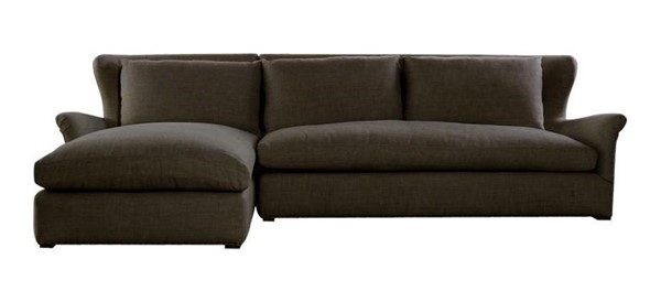 Curations Winslow Brown LAF Sectional CUR-7843-3102-LAF
