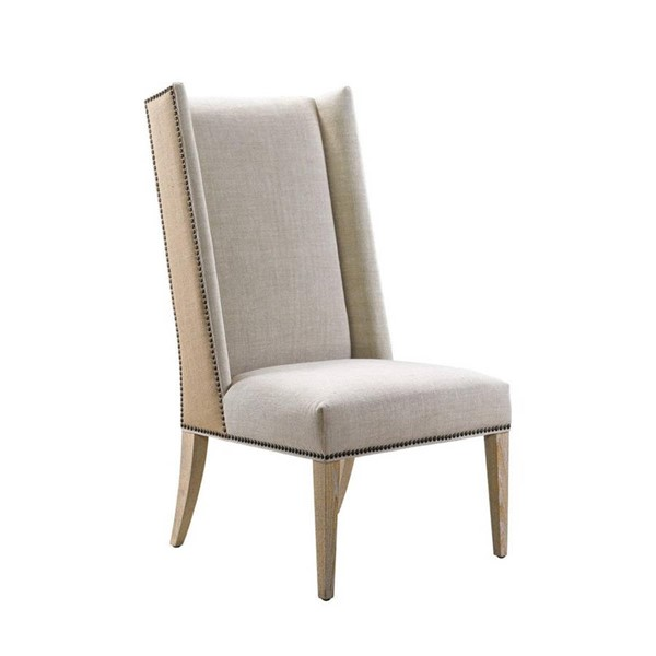 Curations Bertrix Beige Chair CUR-8826-1201