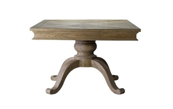 Curations Chateau Weathered Oak Small Dining Table CUR-8831-0008-47