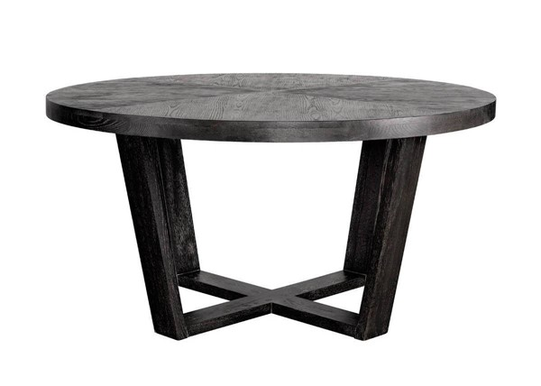 Curations Turin Weathered Oak Dining Table CUR-8831-0030-L-E887