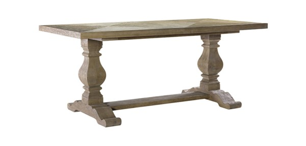 Curations Natural 84 Inch New Trestle Table CUR-8831-1003-M-602