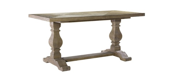 Curations Weathered Oak 72 Inch New Trestle Table CUR-8831-1003-S