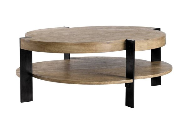 Curations Macon Weathered Oak Coffee Table CUR-8832-0005