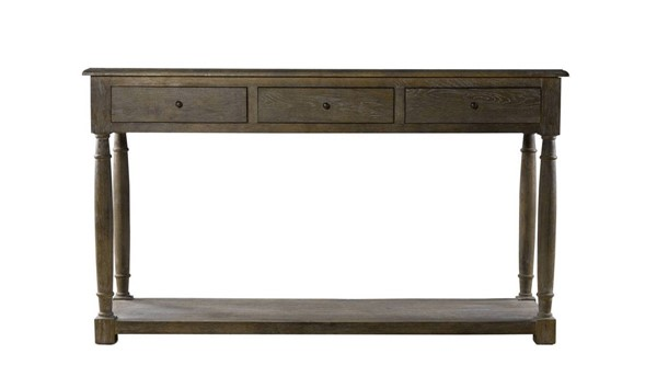 Curations York Weathered Oak Console Table CUR-8833-0004