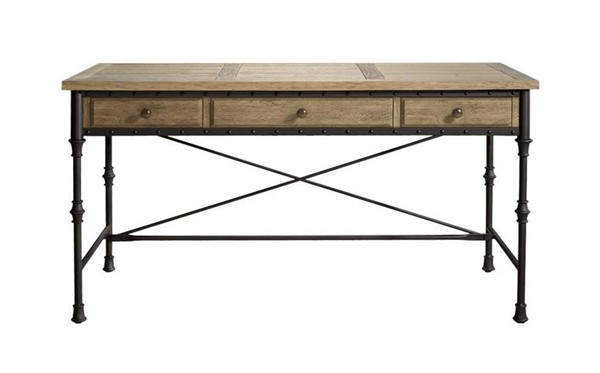 Curations Luzern Weathered Oak Desk CUR-8834-0004