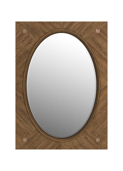 Curations Solaro Weathered Oak Mirror CUR-9100-1172