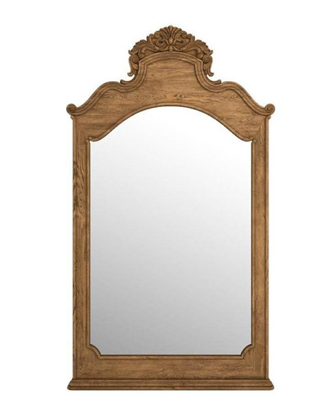 Curations Istres Weathered Oak Mirror CUR-9100-1180
