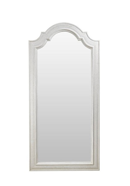 Curation Trento Vintage White Tall Mirror CUR-9100-2162
