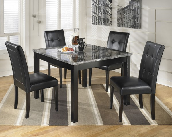 Ashley Furniture Maysville 5pc Square Table Set D154-225