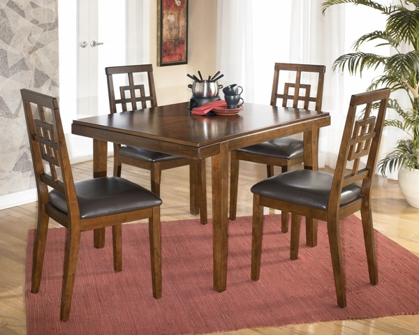 Ashley Furniture Cimeran Brown 5pc Dining Room Set D295-225