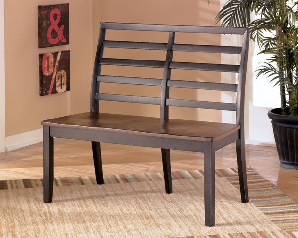 Alonzo Contemporary Two-Tone Brown Wood Double Dining Chair D367-08