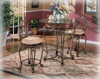 Opulence Ii Counter Height Pub Table The Classy Home