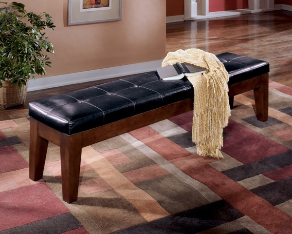 Larchmont Extra Large Upholstered Dining Room Bench D442-09
