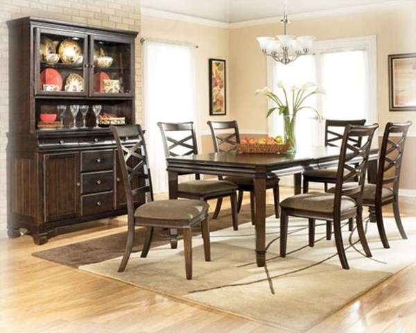 Hayley Contemporary Dark Brown Rectangle Extangle Table D480-35