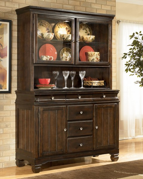Hayley Contemporary Dark Brown Wood China D480-81