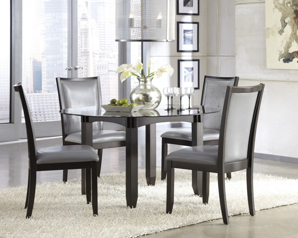 Trishelle Contemporary Wood Dining Room Set D550-Dr