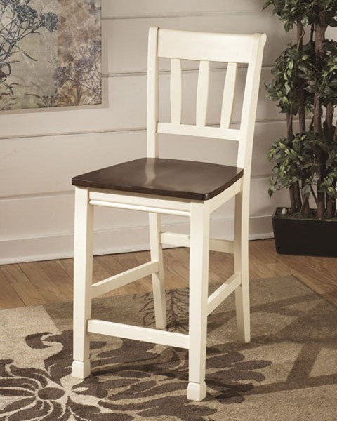 2 Ashley Furniture Whitesburg Bar Stools The Classy Home